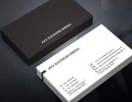 #53 for Design Business Cards for Lawyer by pranadibroy