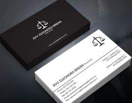 #200 for Design Business Cards for Lawyer by pranadibroy