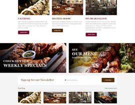 #37 for Design a Website Mockup for BBQ Restaurant by yasirmehmood490