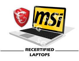"""#20 for Create a logo that says """"MSI Recertified Laptops"""" by sg7ganesh"""