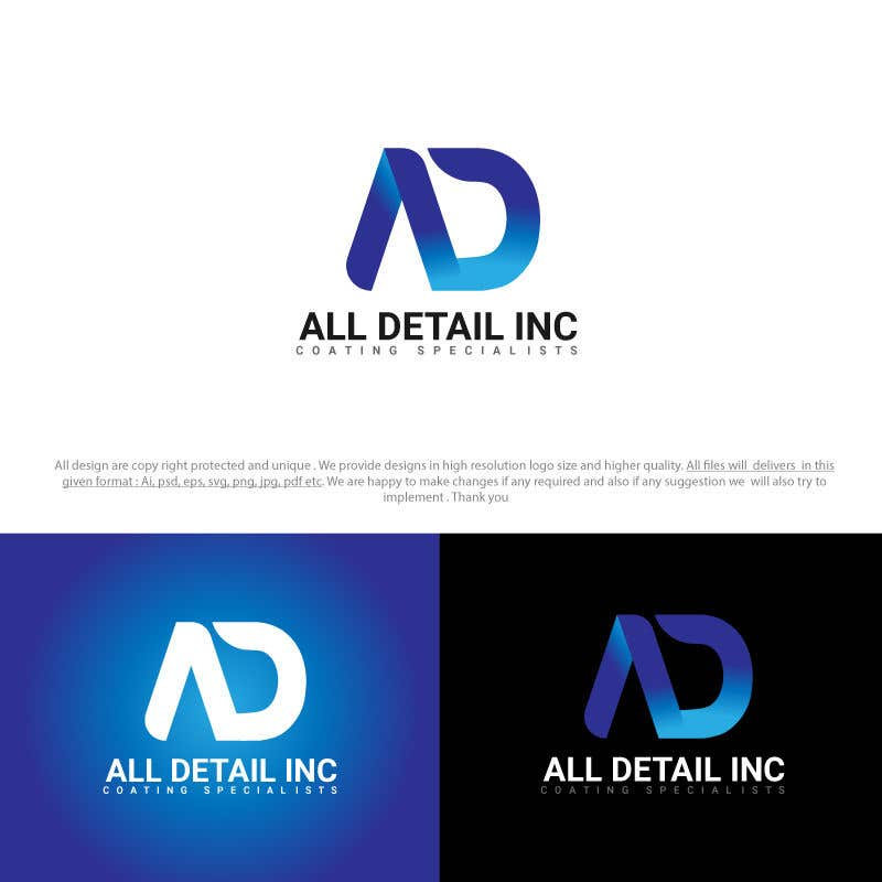 Entry 10 By Sixgraphix For Simple Logo Design For Auto Detail