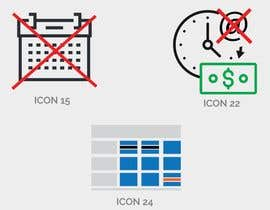ireneweb tarafından 14 icons to edit from existing ai file and 1 to create. için no 7