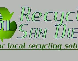 "#1 para A new logo design for ""Recycle San Diego"" por zeljkoerste"