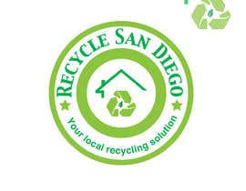 "#9 para A new logo design for ""Recycle San Diego"" por psycho119"