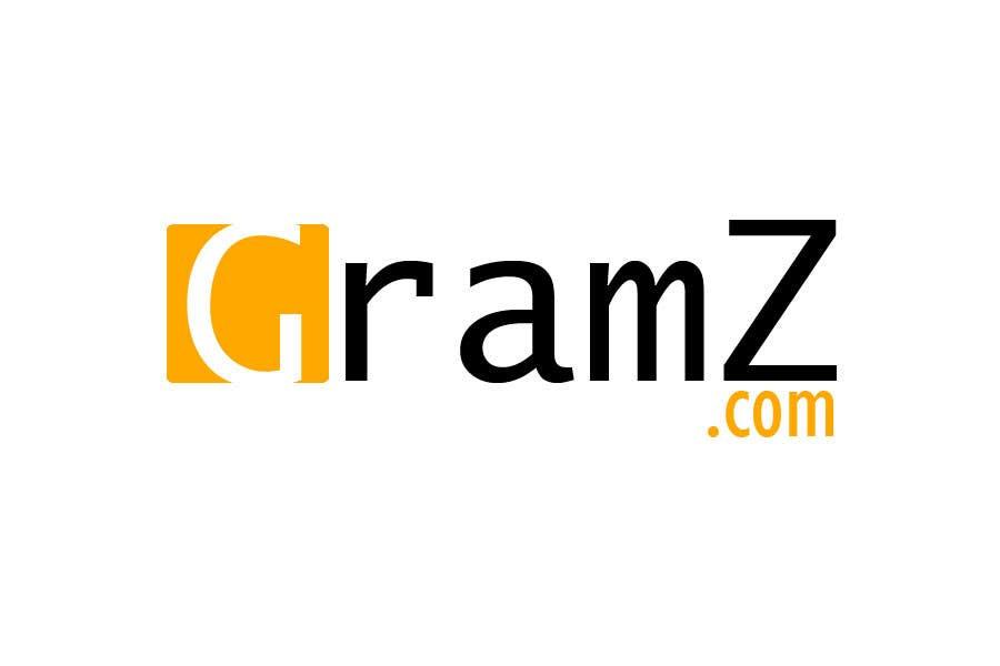 Inscrição nº                                         205                                      do Concurso para                                         Logo Design for GramZ.com