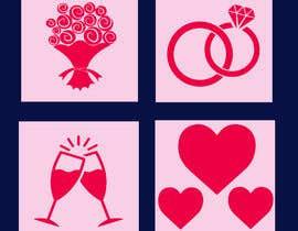 #4 for Design wedding icons by bennybabu71