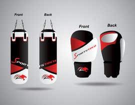 #18 cho Color design draft - boxing gloves and punching bag bởi sudeshsakpal438