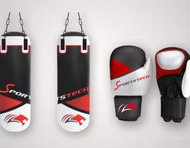#24 for Color design draft - boxing gloves and punching bag by sudeshsakpal438