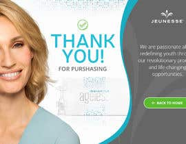 #34 for Design a Thank-You Page Mockup by pixelwebplanet