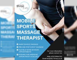 #74 cho Sports massage flyer bởi Mosharfkaptai