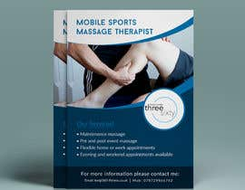 #24 cho Sports massage flyer bởi yeadul