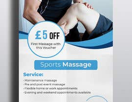 #121 for Sports massage flyer by tannish27