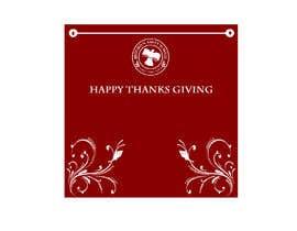 Tmint tarafından THANKSGIVING CARD için no 4