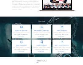 Nro 29 kilpailuun One-page website käyttäjältä boushib