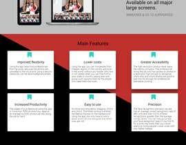 Nro 21 kilpailuun One-page website käyttäjältä andreimarianWeb