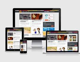 #2 for Design Responsive frontend webpage | AngularJs | 30 pages af vishwajeetbb