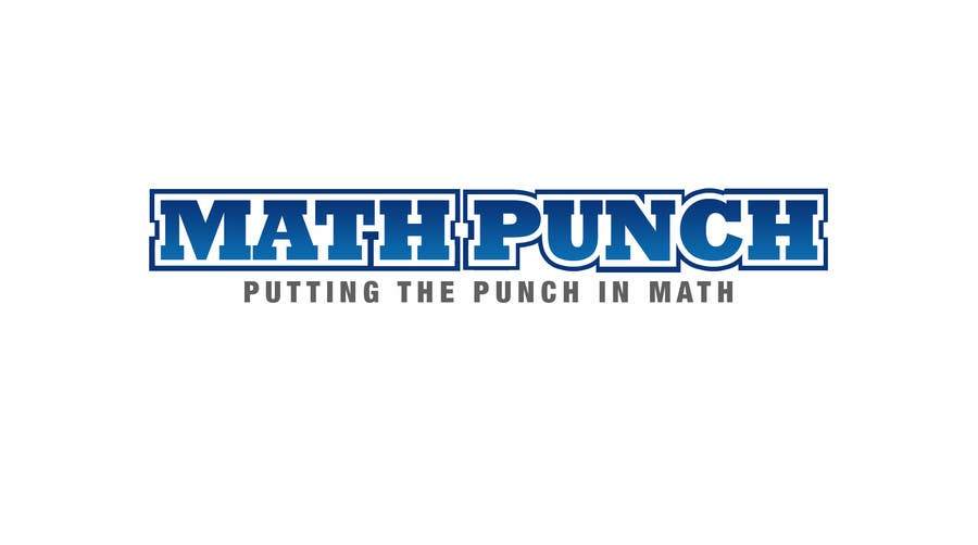 Proposition n°60 du concours Logo Design for Math Punch - Putting the Punch in Math