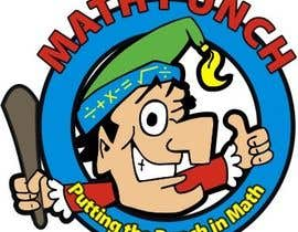 #49 untuk Logo Design for Math Punch - Putting the Punch in Math oleh manikmoon