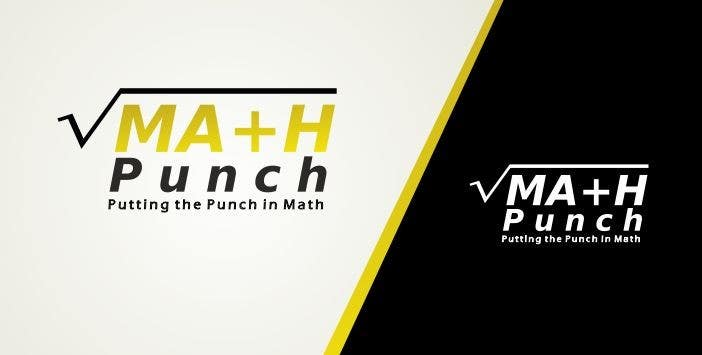 Конкурсная заявка №56 для Logo Design for Math Punch - Putting the Punch in Math
