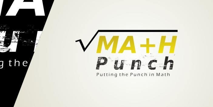 Proposition n°55 du concours Logo Design for Math Punch - Putting the Punch in Math