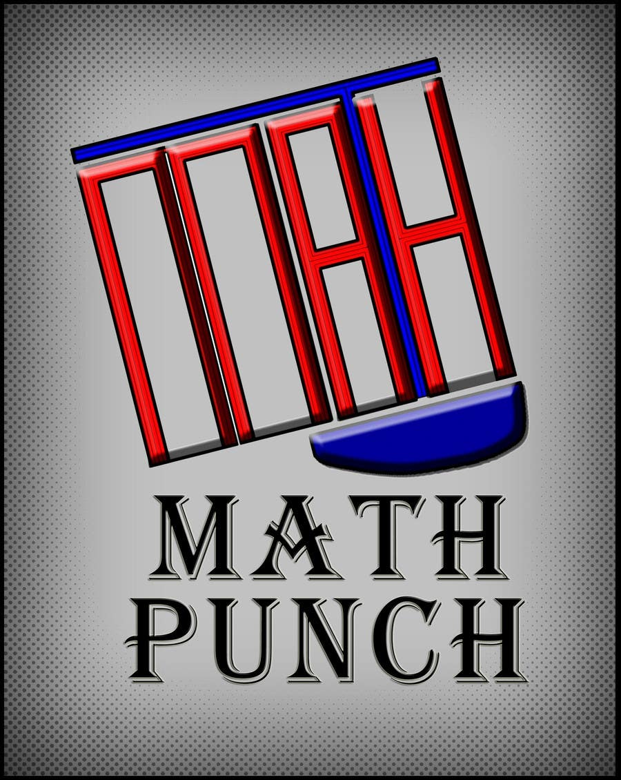 Proposition n°58 du concours Logo Design for Math Punch - Putting the Punch in Math