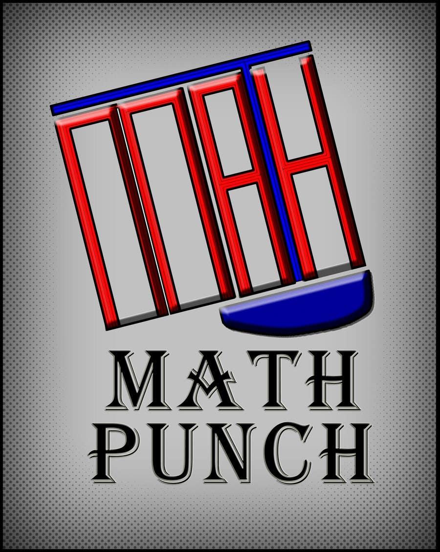 Конкурсная заявка №58 для Logo Design for Math Punch - Putting the Punch in Math