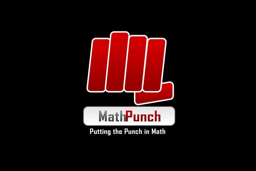 Конкурсная заявка №19 для Logo Design for Math Punch - Putting the Punch in Math