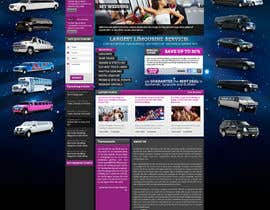 #56 para Website Design for Limousine Service Inc. por MishAMan