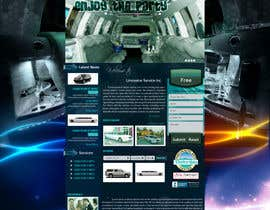 #41 pentru Website Design for Limousine Service Inc. de către nirmal2008