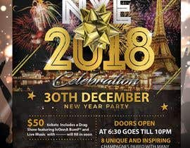 #59 for Need a flyer for a Dec 30th new year themed party by stylishwork
