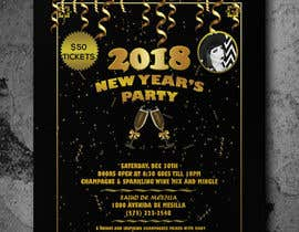#35 for Need a flyer for a Dec 30th new year themed party by ferhanazakia