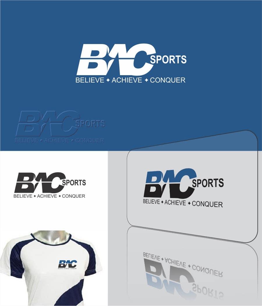 Proposition n°270 du concours Logo Design for BAC Sports