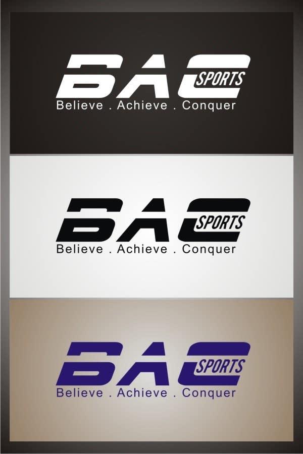 Proposition n°165 du concours Logo Design for BAC Sports