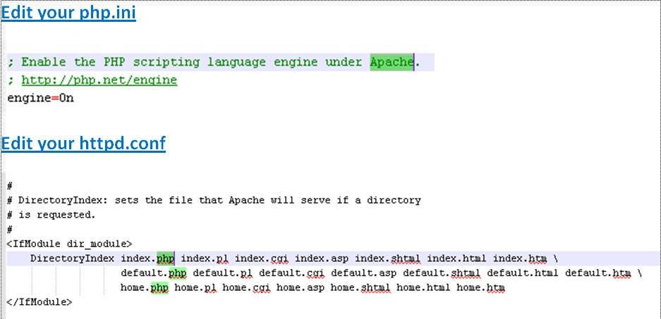 Inscrição nº                                         5                                      do Concurso para                                         Fix PHP running on CentOs with Apache