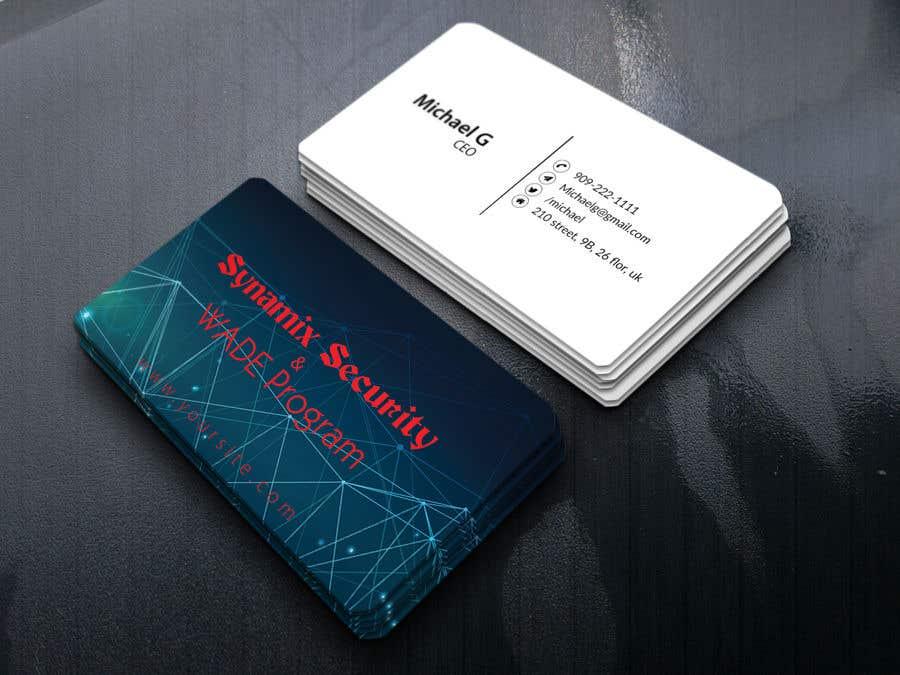 Entry 2 by shamimuzzaman99 for design futuristic business card design futuristic business card colourmoves