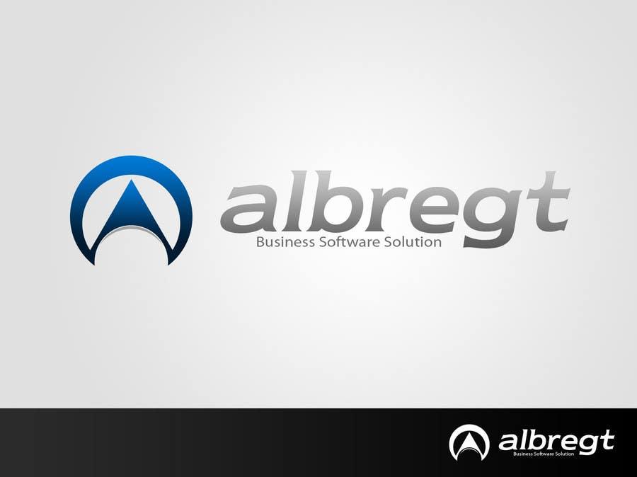 Penyertaan Peraduan #232 untuk Logo Design for Albregt Business Software Solutions