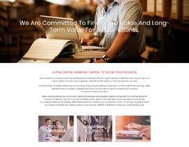 #2 for Building a Wordpress Website on Insurance Brokerage Alpha Capitals by ECSWales