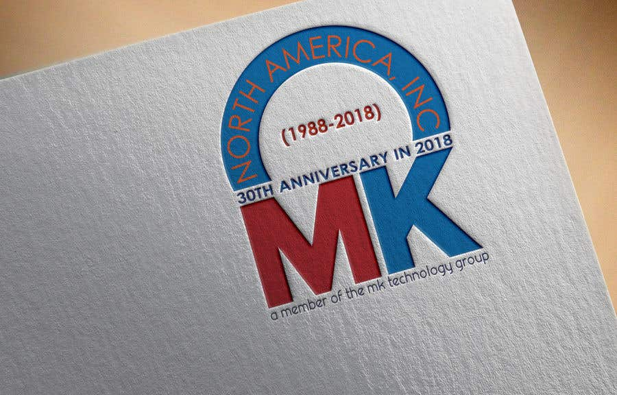 Entry #60 by zikokamrul for 30th anniversary logo for business