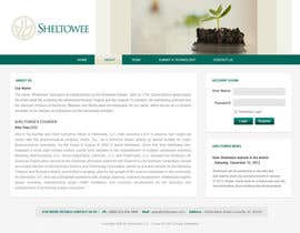 #85 untuk Website Design for Sheltowee LLC a technology investment company oleh vijayadesign