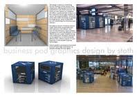 Illustration Design for Business Pod design- self contained business office in business cafes için Graphic Design20 No.lu Yarışma Girdisi