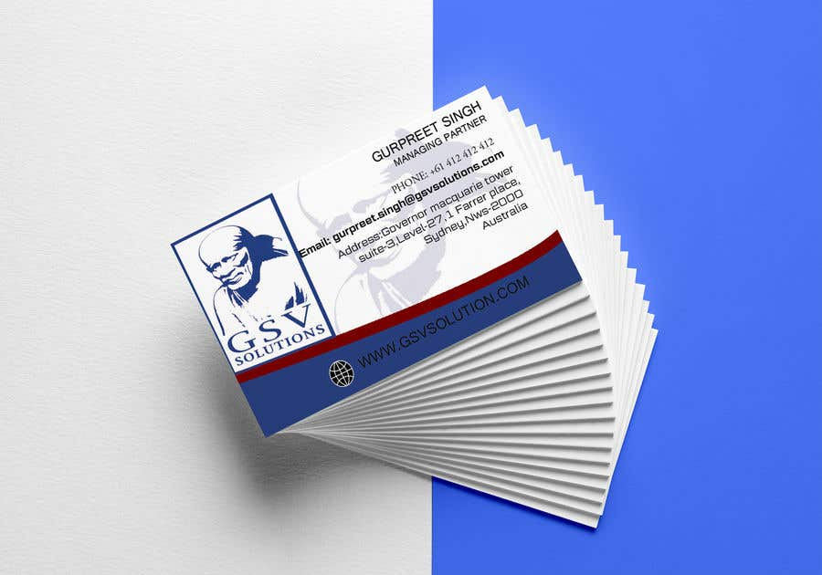 Entry #20 by saifulislamnex for Create a professional business card ...