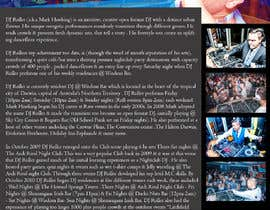 #5 for Design a DJ Biography Page. by gnalini01