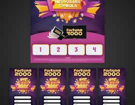 #20 para Casino graphic design for contest. Flyer and poster. por febres
