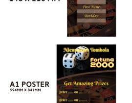 #18 para Casino graphic design for contest. Flyer and poster. por TH1511