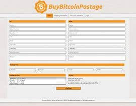 #52 for www.buybitcoinpostage.com by Alleaward