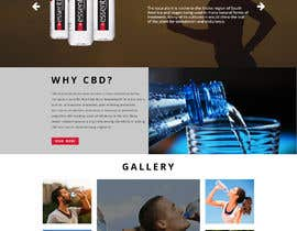 nº 24 pour Website Design for Classy/Sporty Water Bottle Design par ShadabDanishh