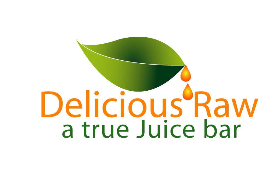 Konkurrenceindlæg #6 for Logo Design for Delicious Raw