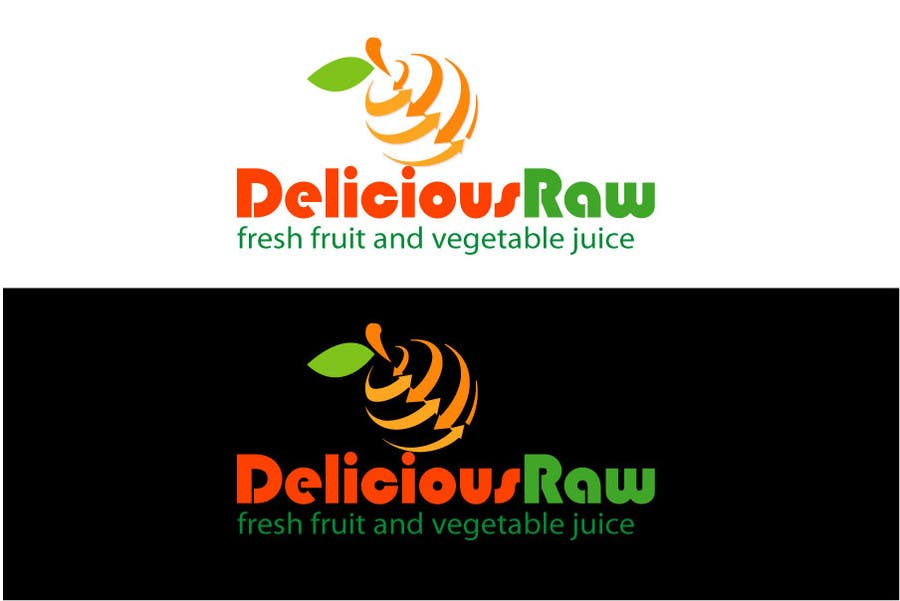Proposition n°                                        44                                      du concours                                         Logo Design for Delicious Raw
