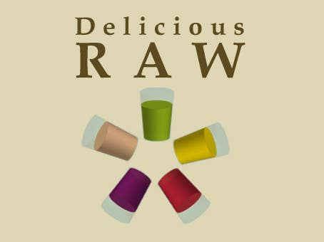 Proposition n°                                        7                                      du concours                                         Logo Design for Delicious Raw