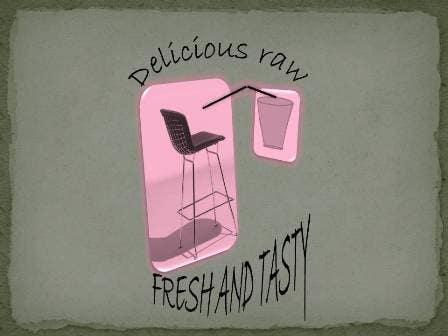 Kilpailutyö #                                        58                                      kilpailussa                                         Logo Design for Delicious Raw
